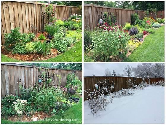 4 season large perennial garden