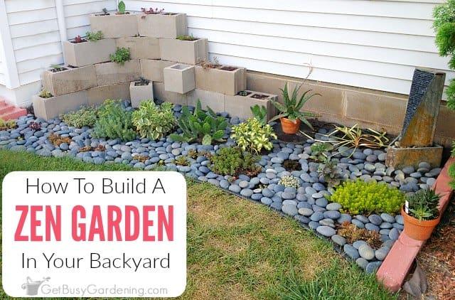 How To Make A Zen Garden In Your Backyard
