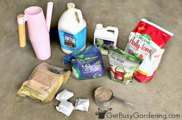 Some great organic potted plant fertilizer options
