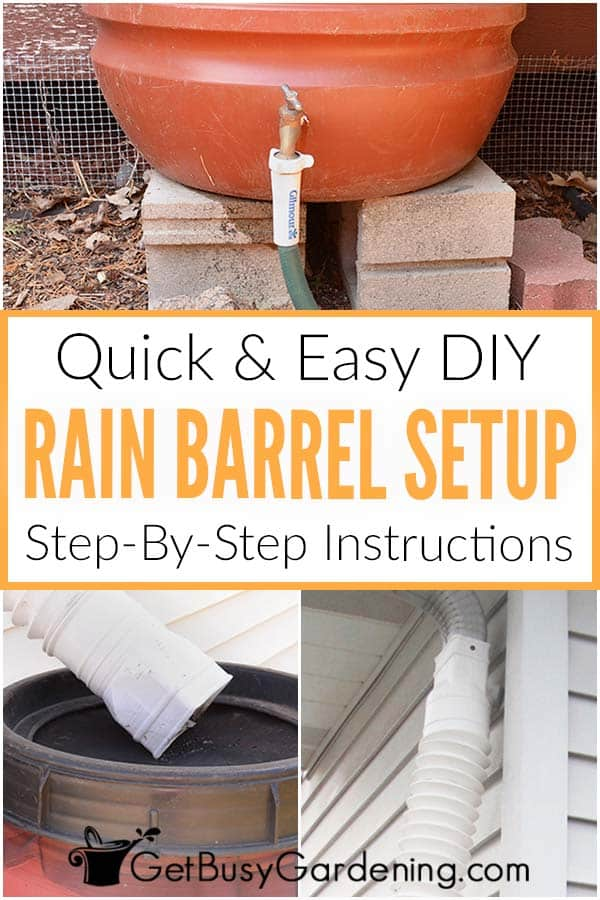Quick & Easy DIY Rain Barrel Setup: Step-By-Step Instructions