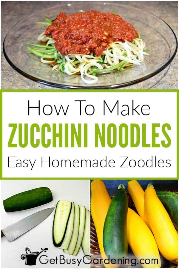 How To Make Zucchini Noodles Easy Homemade Zoodles
