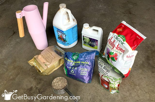 Some of the best fertilizers for vegetables